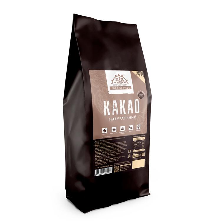 Какао порошок натуральний Barry Callebaut, 1 кг