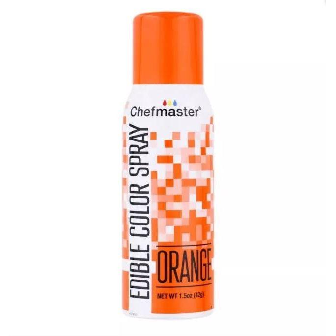 Краситель спрей Оранжевый Chefmaster Color Spray, 42г