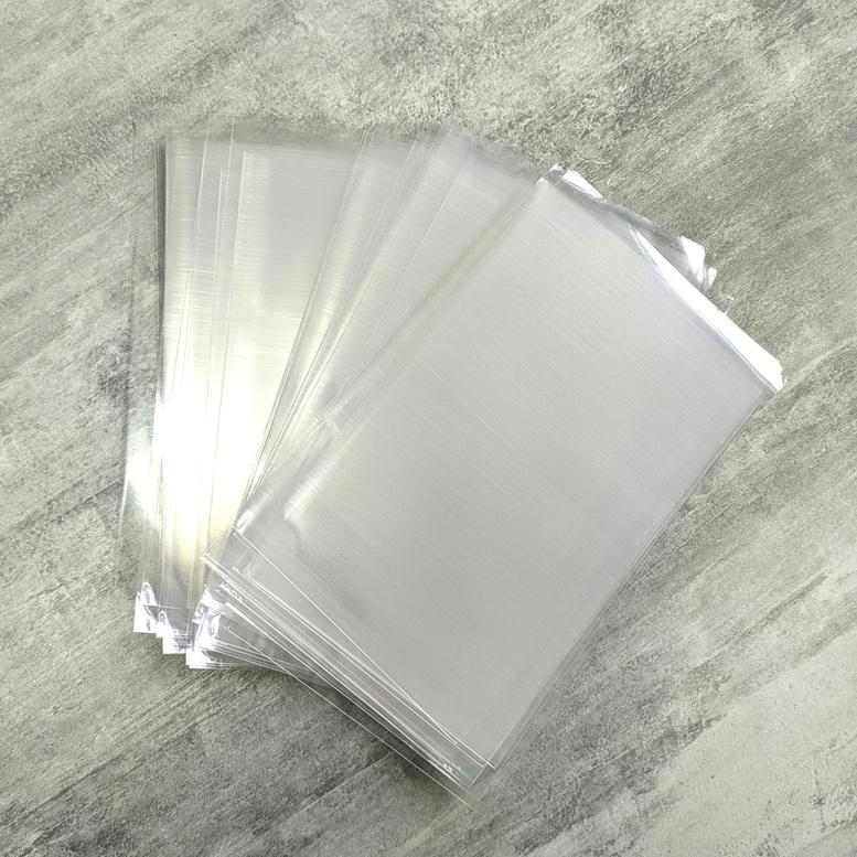 Пакет упаковочный прозрачный  10х15, 25мк, 10 шт