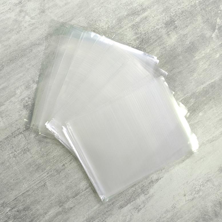 Пакет упаковочный прозрачный  12х16, 25мк, 10 шт