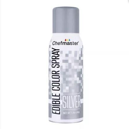 Краситель спрей Серебро Chefmaster Color Spray, 42г