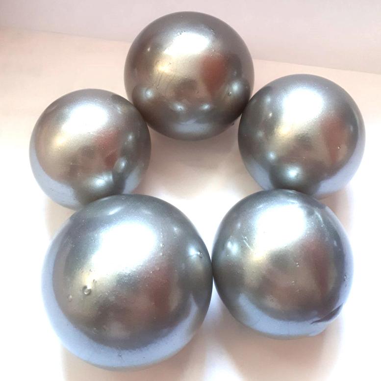 Желейні кульки срібні (5 шт/уп), Slado