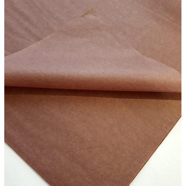 Бумага Тишью 50х75см Шоколад