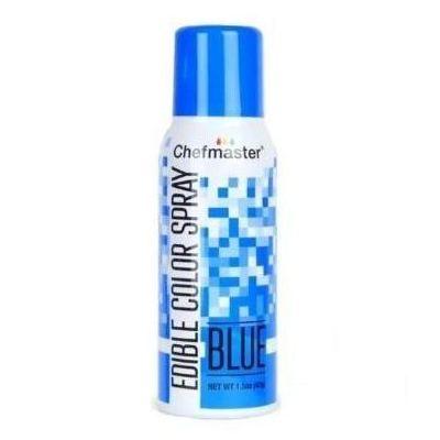 Краситель спрей Синий Chefmaster Color Spray, 42г