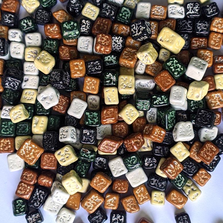 Декор шоколадний камінці темні Ovalette, 100г
