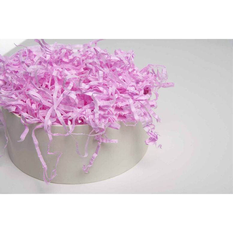 Наполнитель из бумаги тишью Нежно-розовый, 50г