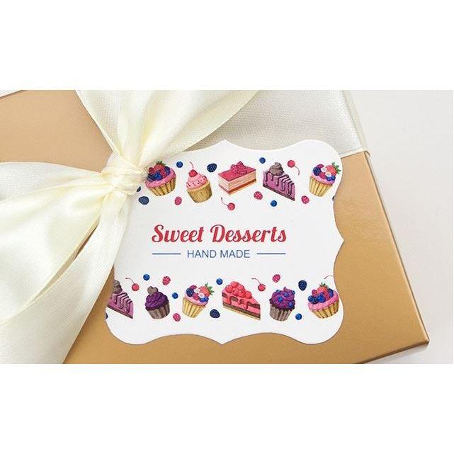 "Бирки декоративные ""Sweet desserts"", 5 шт/уп"