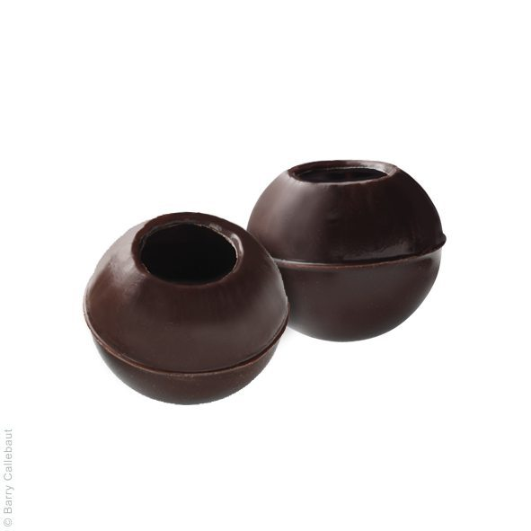 Трюфель корпус з чорного шоколаду, 126 шт
