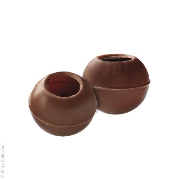 Трюфель корпус з молочного шоколаду, 126 шт