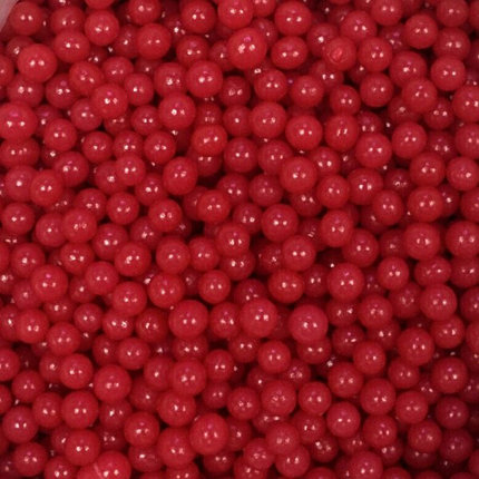 Цукрові кульки Червоні 6 мм, Amarischia, 50г
