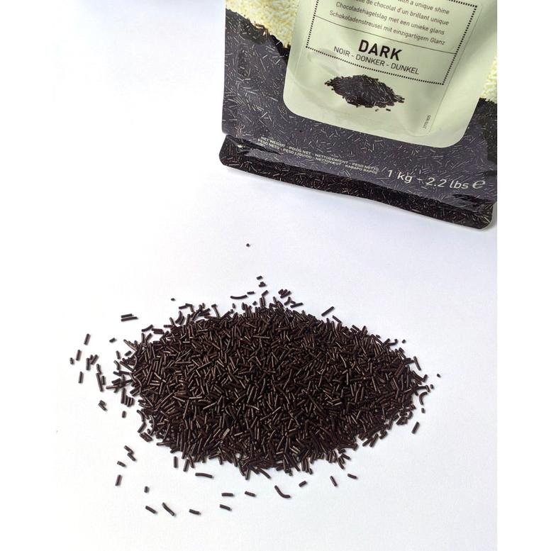 Декор из черного шоколада Вермишель Callebaut, 100 г