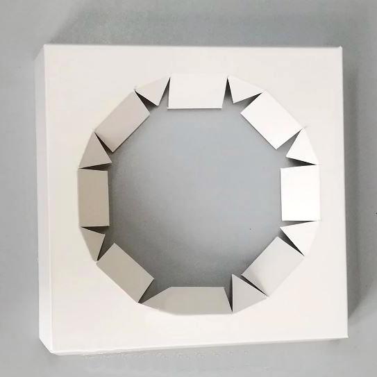Вставка для паски 140х140х30 (диаметр 112мм), мел.к.