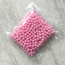 Цукрові кульки 5 мм рожева перлина, Amarischia, 50г