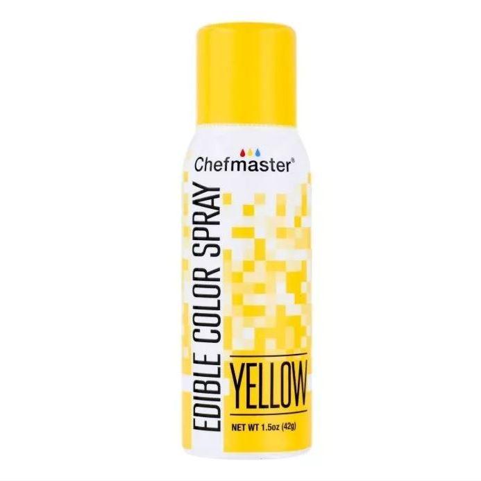 Краситель спрей Желтый Chefmaster Color Spray, 42г