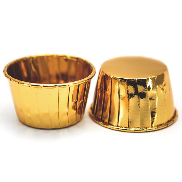 Форма посилена з бортом 50/40 Золото з ламінацією